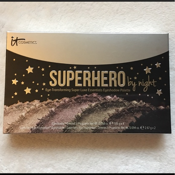 it cosmetics Other - IT Cosmetics Superhero By Night Eyeshadow Palette